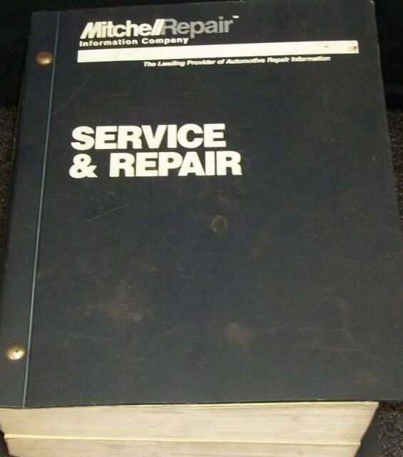 1995 Mitchell Electrical Service  U0026 Repair Manual For
