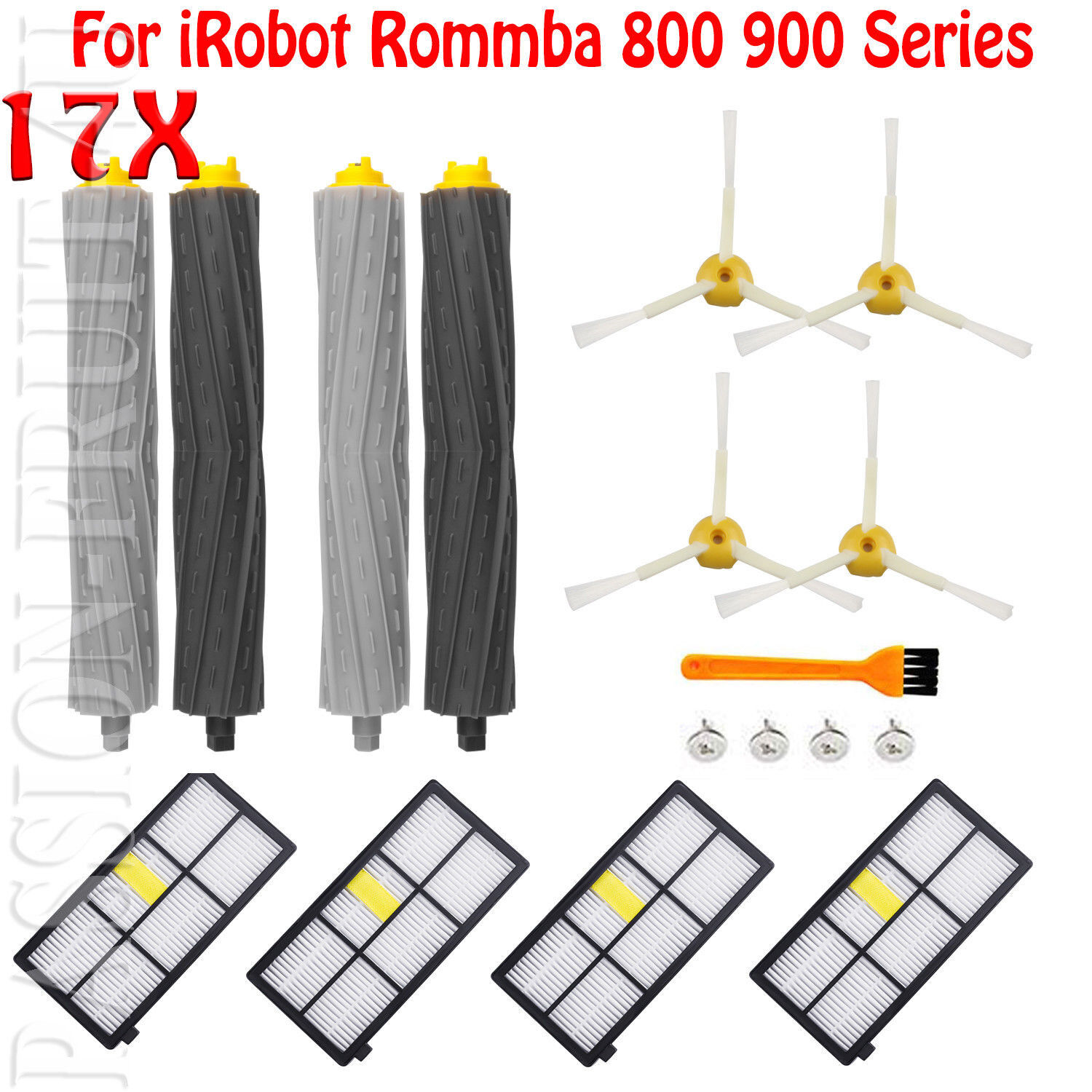 Replacement Brush Parts For iRobot Roomba 800 880 860 870 871 980 990 900