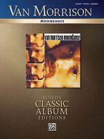 Van Morrison Moondance Sheet Music Piano Vocal Guitar Songbook 000700296