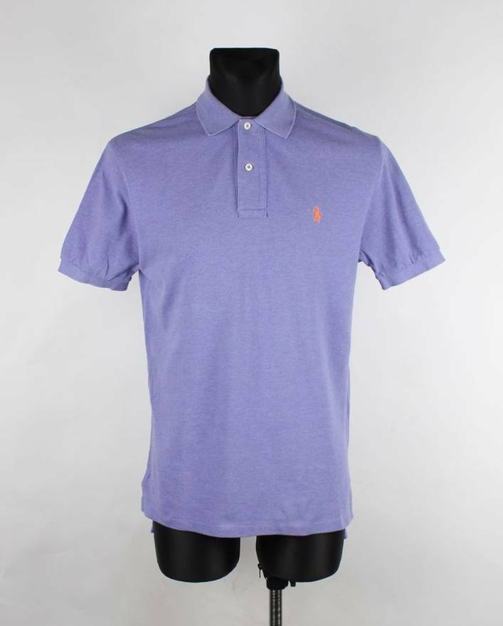 Ralph Lauren Men Cotton Polo Shirt Size S Small, Genuine