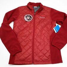 $90 Columbia Men's Columbia® Warmer Days™ II Full-Zip Jacket Small Red NWT