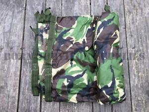 BRITISH-ARMY-ISSUE-DPM-CAMO-BASHA-Waterproof-Survival-Shelter-Sheet-Tarp-Surplus