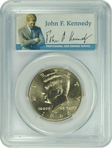 1996-P PCGS MS67 Kennedy Half Dollar Presidential Label