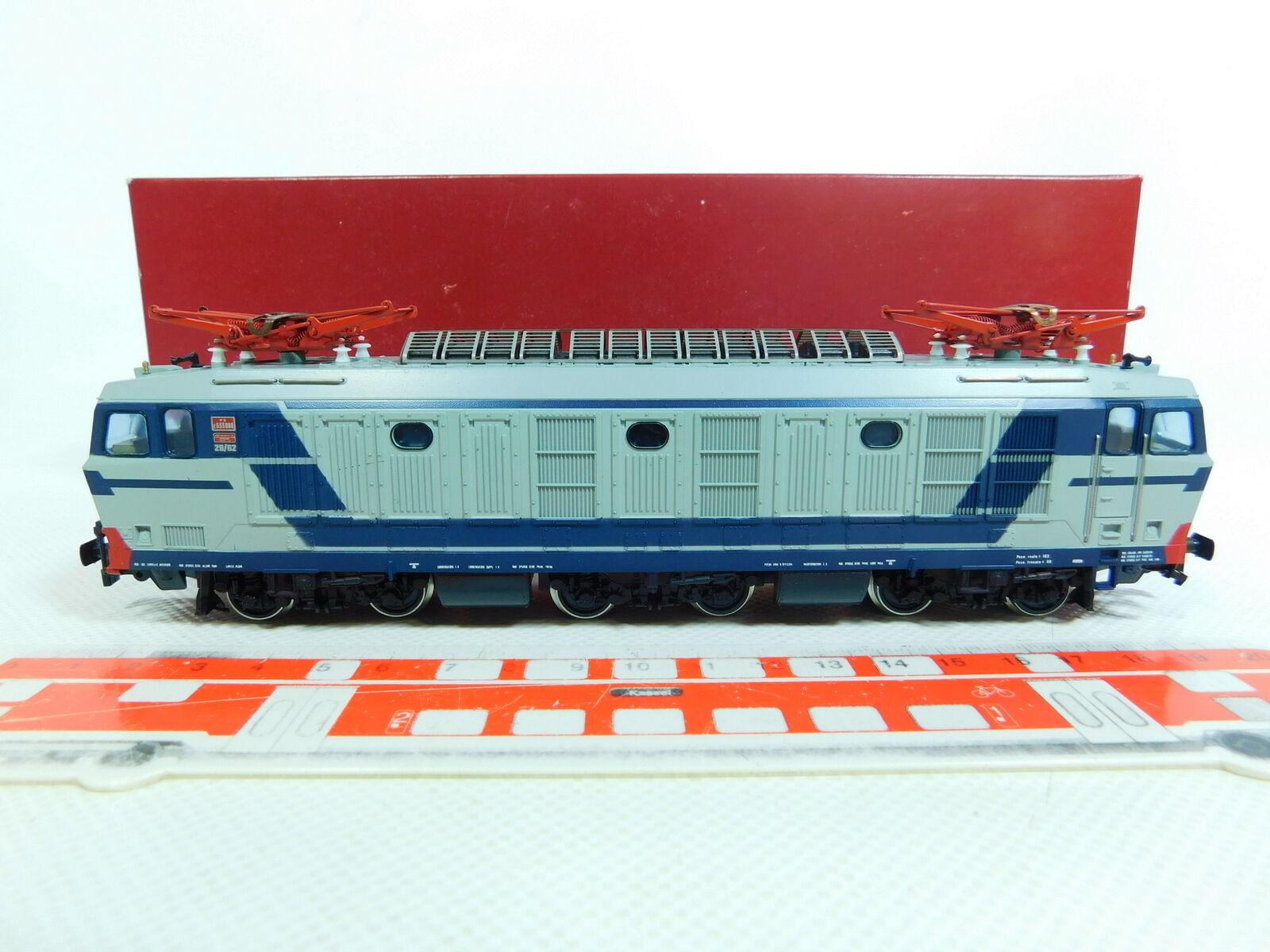 BV637-2Rivarossi H0 DC 1472 E-Lok E-Lokomotive E 633 080 FS, sehr gut+OVP