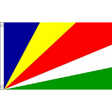 Seychelles Flag 5Ft X 3Ft Africa African Island Country Banner With 2 Eyelets