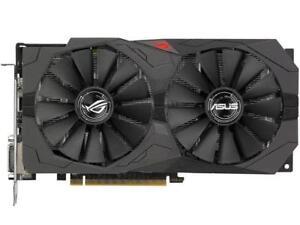 ASUS ROG Strix Radeon RX 570 O4G Gaming OC Edition GDDR5 DP HDMI DVI VR Ready AM