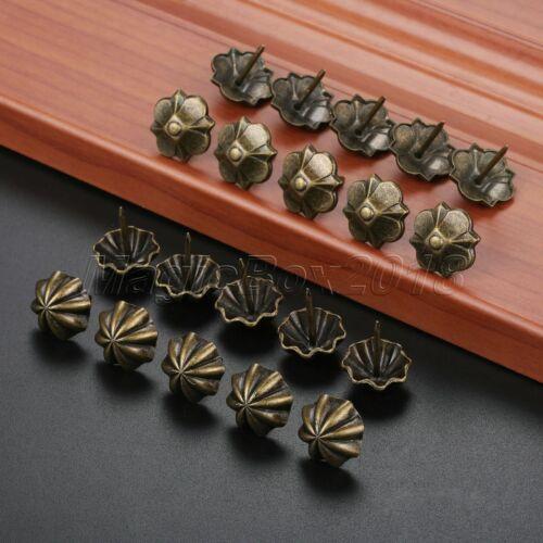 10//50Pcs Four-leaf Clover//Umbrella Upholstery Nails Furniture Tacks Studs Decor