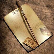 Dumbledor Elder wand with spell list to practice spells!