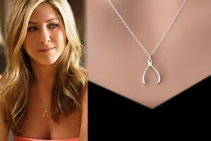 Sterling-Silver-OR-Gold-Wishbone-Good-Luck-Charm-Layering-Necklace-Gift