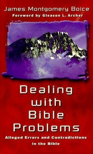 Dealing with Bible Problems Mass Market Paperbound James Montgomery Boice