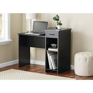 mainstays student desk multiple finishes w 42666107082 ebay rh ebay com mainstays student desk with easy-glide drawer white mainstays student desk with easy-glide drawer black wood finish