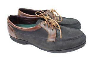 allen edmonds lifestyles brown leather dock boat shoe