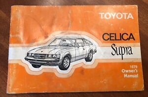 Toyota-Celica-Supra-1979-Owners-Manual-9752A