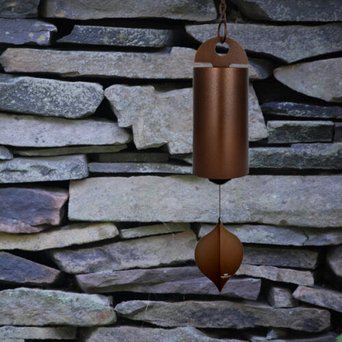 Woodstock Chimes Antique Heroic Windbell Antique Copper HWLC Large