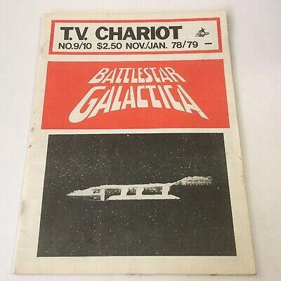 /'84 STAR TREK Fanzine STAR WINGS 2 Battlestar Galactica C9787