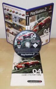 COLIN-MCRAE-RALLY-04-Ps2-pal-gioco-game-Sony-PlayStation-prima-stampa-Codemaster