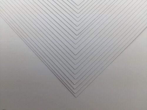 100 x SRA2 A2 hi-white papier craft carte 160gsm