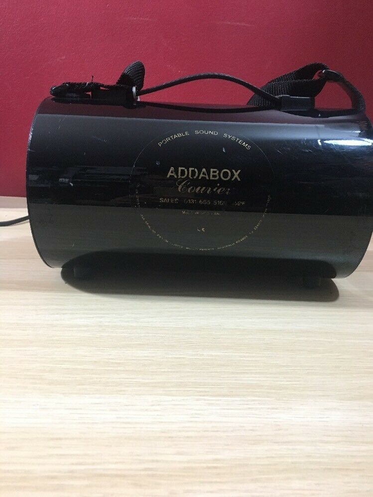 Addabox Courier Portable Battery PA System