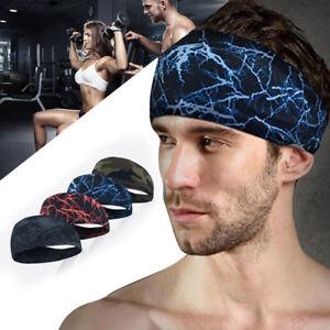 Men-Women-Sweat-Sweatband-Headband-Yoga-Gym-Running-Stretch-Sports-Head-Band