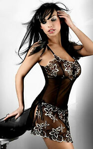 BABYDOLL-DRESS-UNDRESSED-WITH-STRING-TOP-SEXY-GRANDE-SIZE-44-46-46-48-amp-48-50
