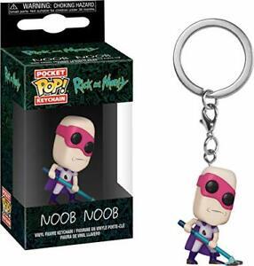 Funko POP!Pocket Keychain: Rick and Morty - Noob - Noob Brand NEW