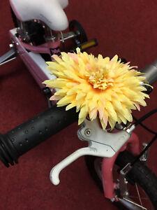 Vélo Décoration Fleur Clip sur guidon (Couleur Option) diamètre 12 cm  </span>