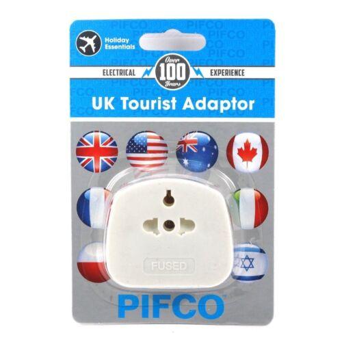 Universal UK touristique aus//UE//USA//CHINE à UK 3 Broches Adaptateur Voyage Prise