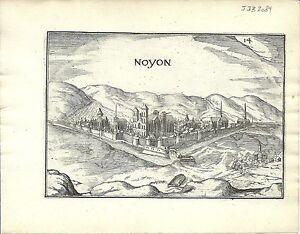 Antique-map-Noyon