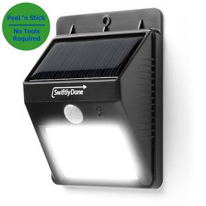 OUTDOOR LIGHT LED Motion Detector Solar Power Security Exterior Lighting Sens