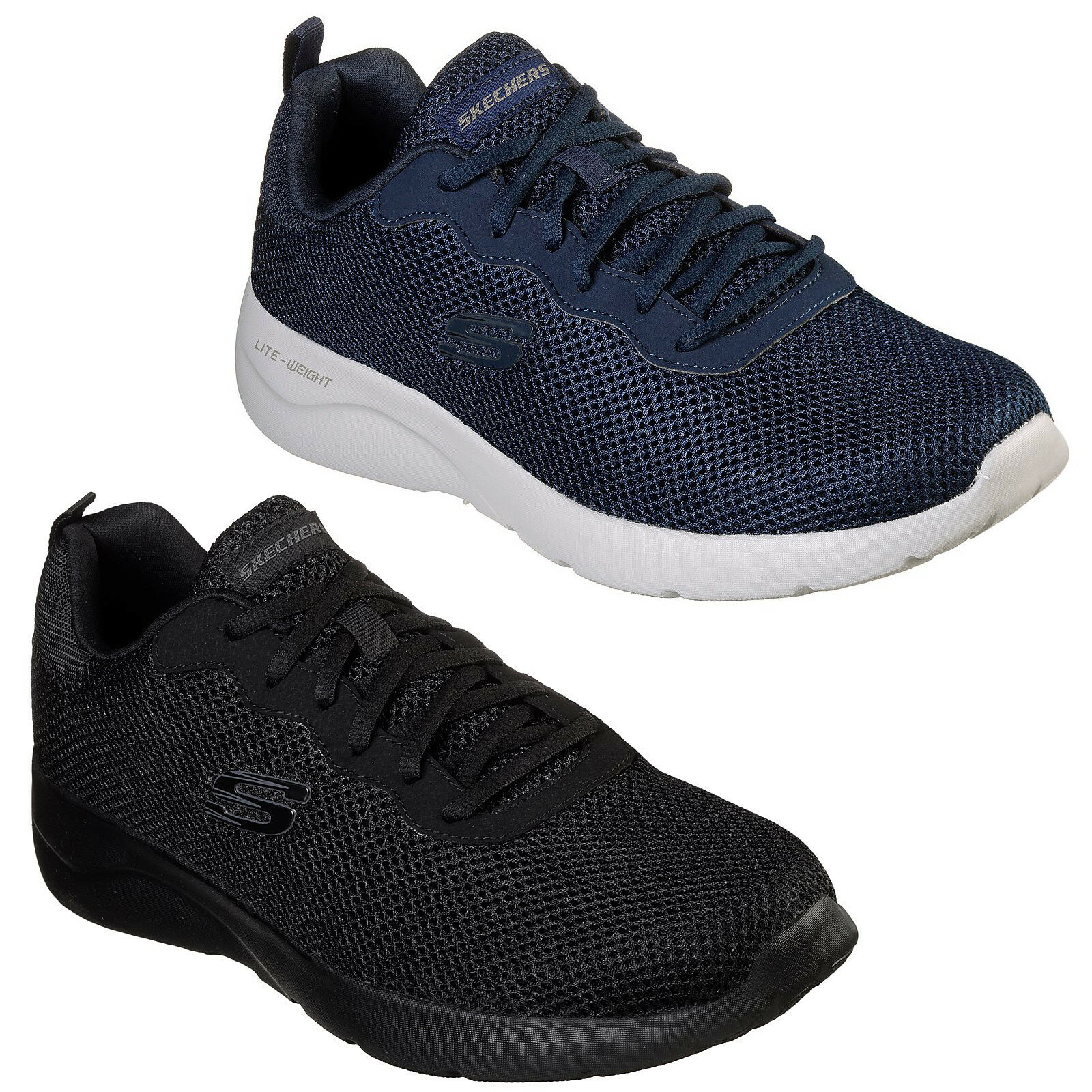 Skechers Dynamight 2.0 -  hill Trainers Mens Sports Woven  Mesh shoes 58362  classic fashion