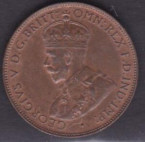 CB204-Australia-1933-Halfpenny-choice-uncirculated-lustred-coin