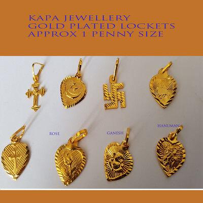 -uk- 18k Gold Plated Heart/ Love Locket Pendant Necklace Zur Verbesserung Der Durchblutung