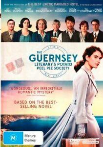 NEW-The-Guernsey-Literary-amp-Potato-Peel-Pie-Society-DVD-Free-Shipping