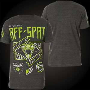 Sport Grau T shirt shirts T Affliction Herren Venom qqWEIr