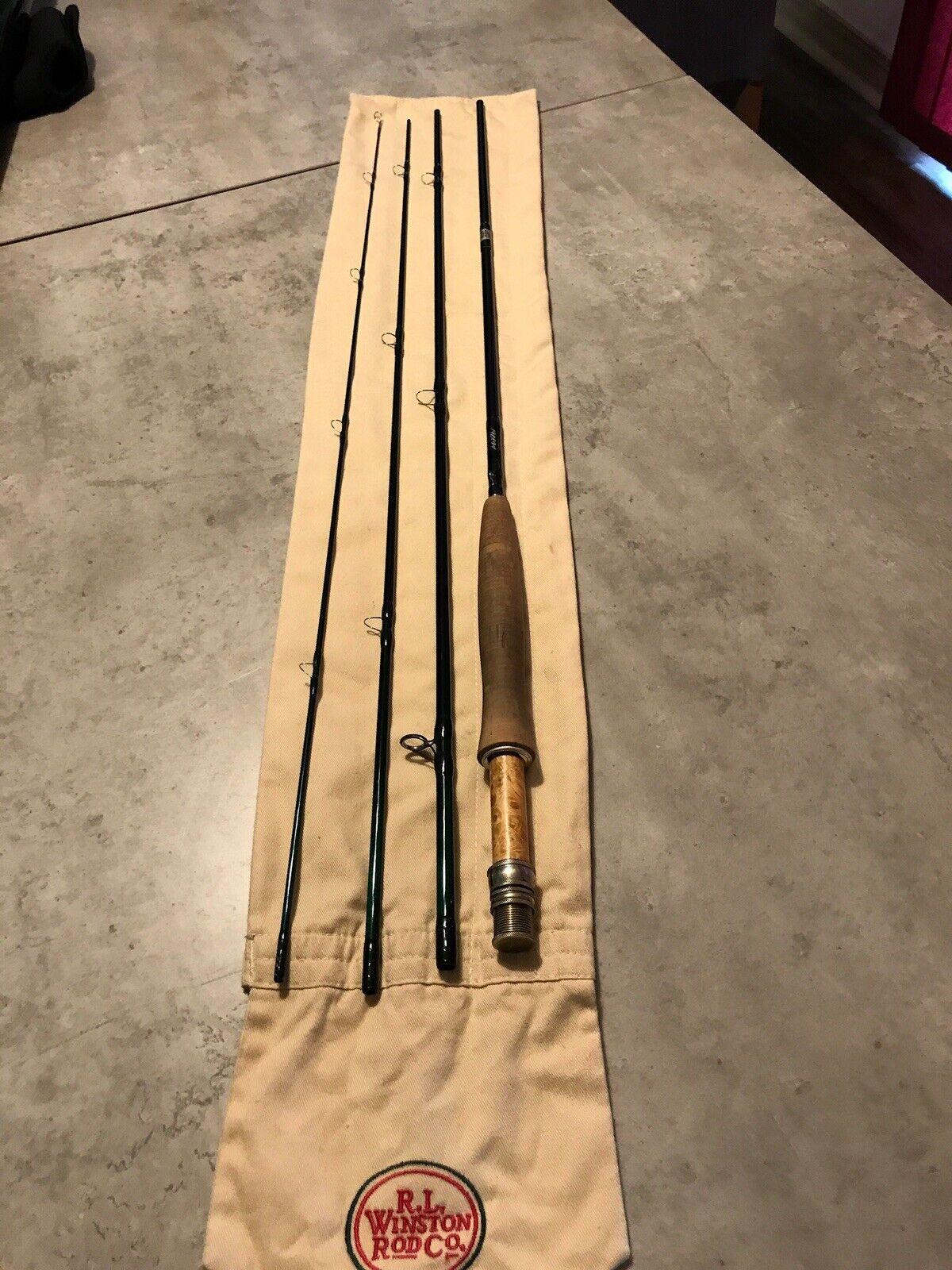 Winston Boron IIIX 9' 5wt 4pc Fly Rod + Extras