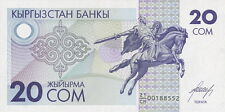 Kirgistan / Kirgisistan / Kyrgyzstan 20 Som (1993) Pick 6 (1)