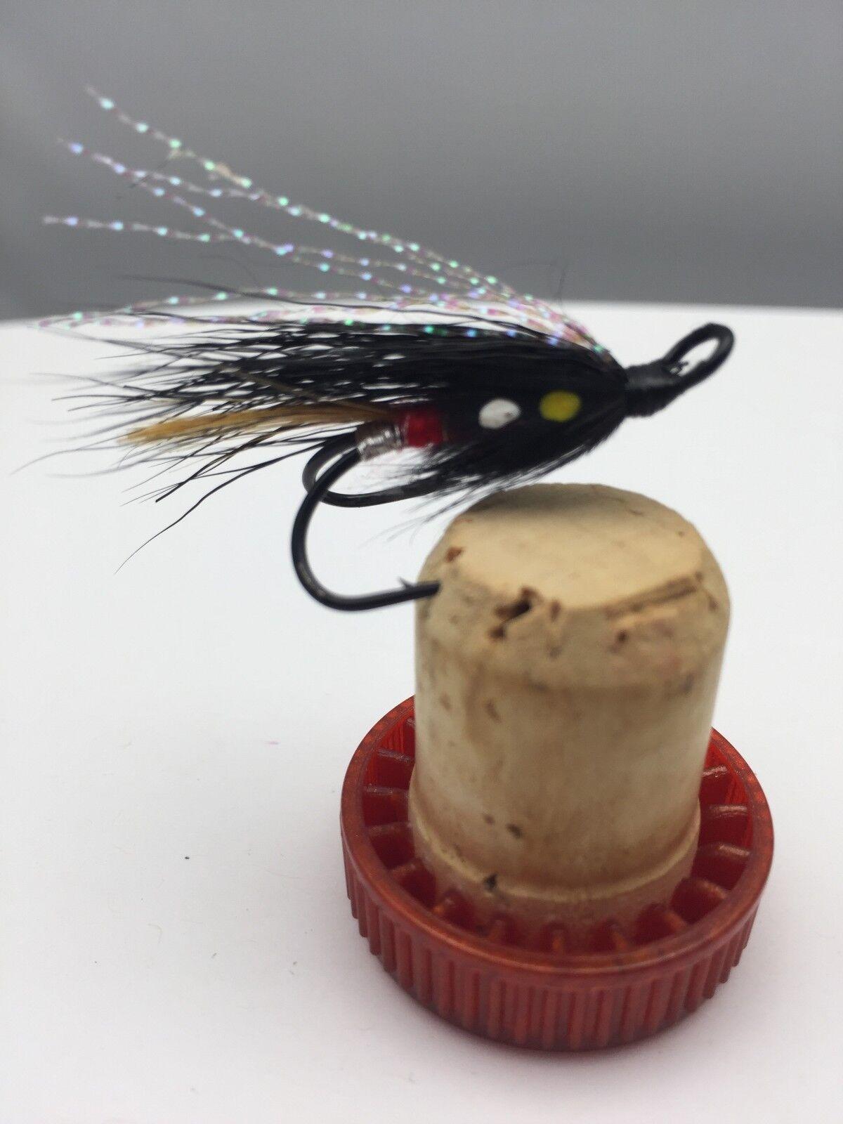 Salmon flies Tailles