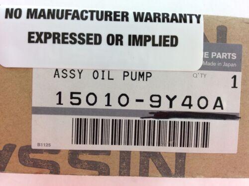 150109Y40A 15010-9Y40A  Infiniti Oil Pump NEW OEM!