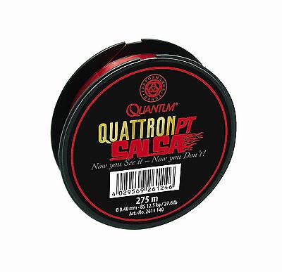 Quantum Quattron PT Salsa 275m Angelschnur Angelsehne Schlagschnur