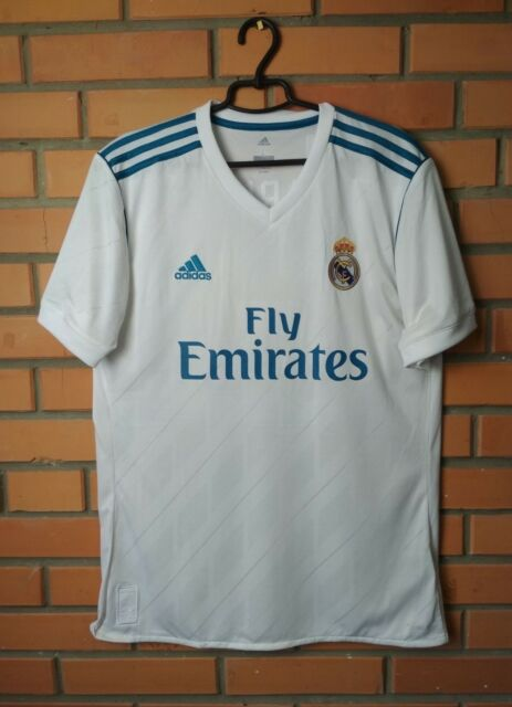Real Madrid Jersey 2017 2018 Home L Shirt Adidas Football Soccer Trikot Markus