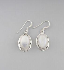 Rainbow-Moonstone-India-925-Sterling-Silver-Earrings-Girls-Jewelry