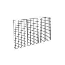 Metal Grid Panel For Retail Display 2 Width X 4 Height Black