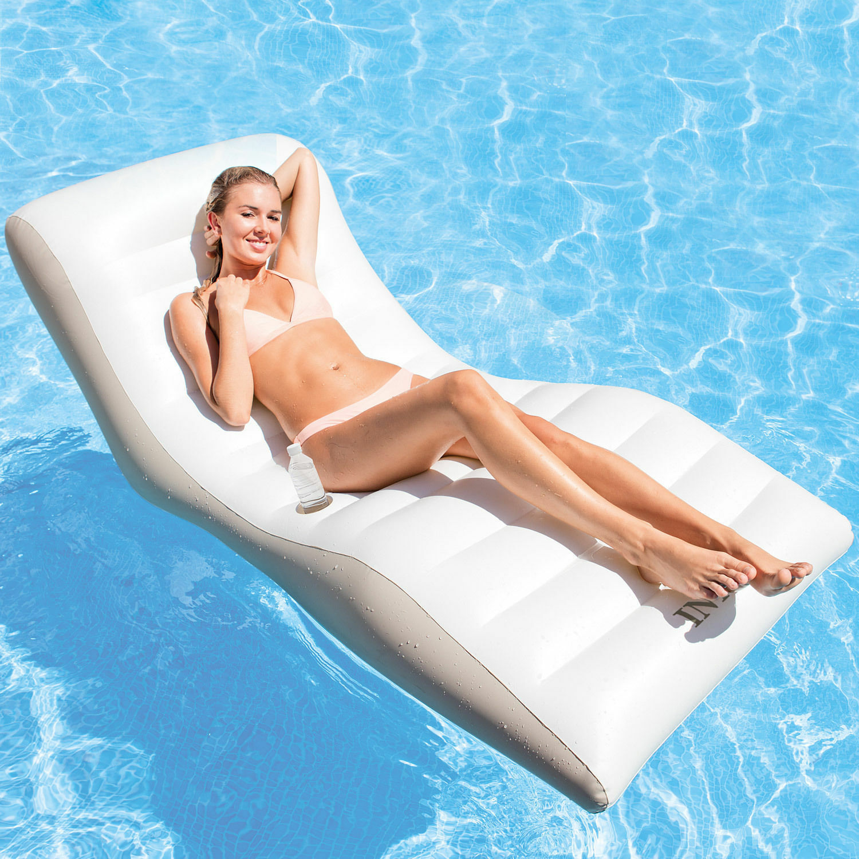Intex 56861 Wave Lounge Luftmatratze Luftmatratze Luftmatratze Schwimmliege Pool Wasserliege Poolliege 8d51fc