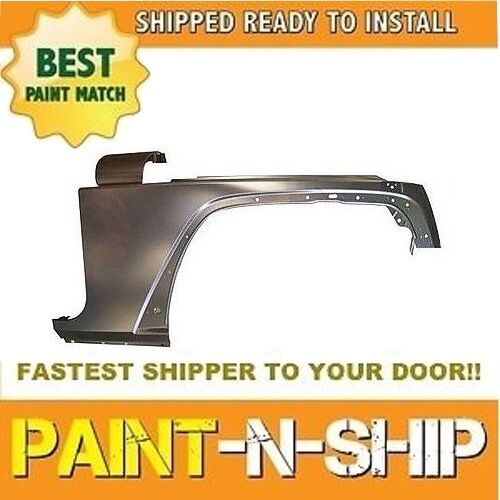 NEW 2012 2013 2014 2015 2016 2017 Jeep Wrangler Right Fender Painted CH1241257