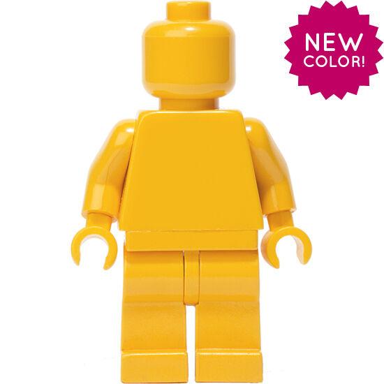 LEGO Bright Light arancia MONOFIG  (Monochrome Minicifra)  per il commercio all'ingrosso