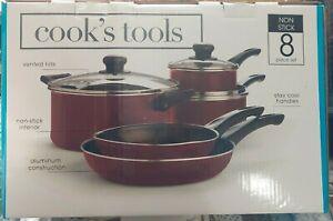 Cook's Tools Non-Stick 8-Piece Cookware Set - GallyHo