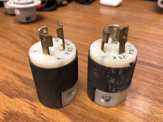 New Hubbell HBL 4720C 15A 125V Twist-Lock Plug L5-15P