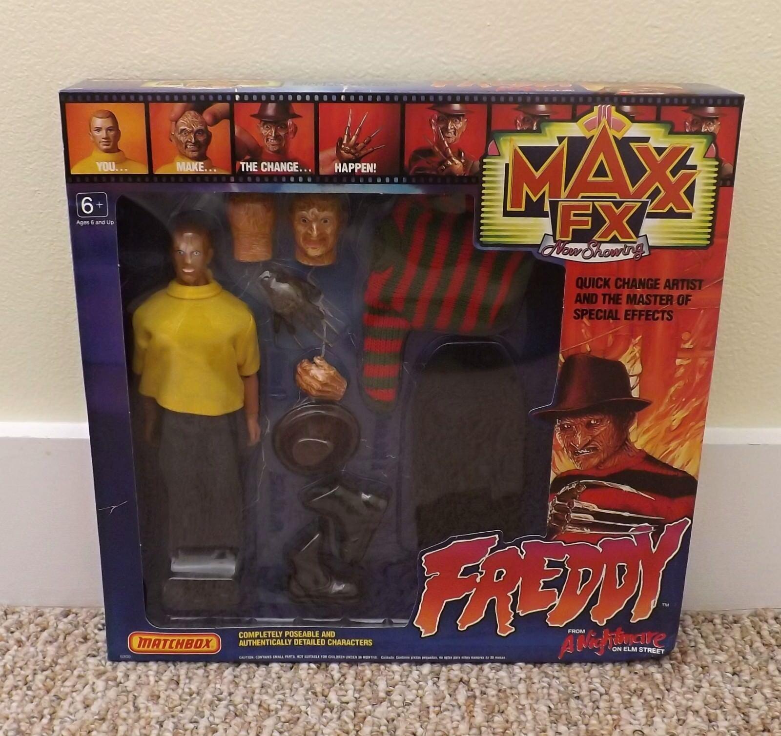 Für 1989 matchbox maxx fx frotdy krueger nightmare on elm street abbildung excellet