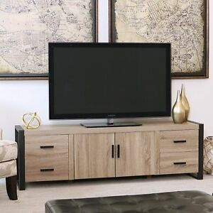Walker Edison Furniture 70 Inch Industrial Wood Tv Stand Console In