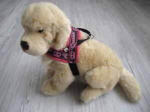 Hundegeschirr-Umfang-33-40-cm-Hundehalsband-Halsband-Hundebekleidung-Handarbeit